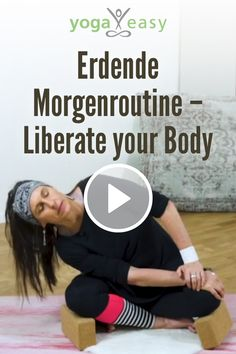 Erdende Morgenroutine: Liberate Your Body Yoga Fitness, Online Fitness, Routine, Yoga Video, Yoga Meditation, Training, My Style, Videos, Sport
