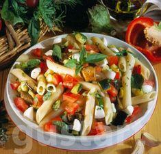 Olasz tésztasaláta Kung Pao Chicken, Meat, Ethnic Recipes, Food, Italia, Essen, Meals, Yemek, Eten