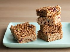 Brown Rice Crispy Treats from FoodNetwork.com