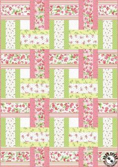 13 Strip Quilt Patterns You Can Easily Master 2019 Sweet Pea Sweet Weave Free Quilt Pattern The post 13 Strip Quilt Patterns You Can Easily Master 2019 appeared first on Quilt Decor. Strip Quilt Patterns, Jelly Roll Quilt Patterns, Strip Quilts, Easy Quilts, Quilt Blocks, Quilting Patterns, Quilting Ideas, Easy Quilt Patterns Free, Quilting Projects