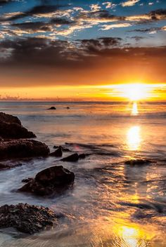 Into the Light | Dave Gaylord #sunset #sea #ocean