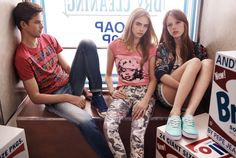 Adults Spring Summer 2013 with Cara Delevingne