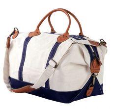 http://www.myfashiondaily.com/category/duffle-bag/ http://www.fashion2do.com/category/duffle-bag/ Canvas Duffle Bag - Navy