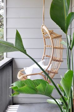 MY FAVORITE THINGS: A RATTAN HANGING CHAIR | THE STYLE FILES