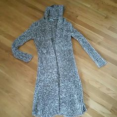 NWOT sweater Maurice's very long sweater. Would be super cute with leggings & boots. NWOT size med. Maurices Sweaters Cardigans