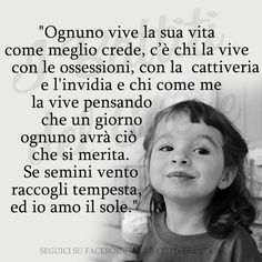 Best Quotes, Love Quotes, Quotes Thoughts, Italian Quotes, Feelings Words, Intelligent People, Memories Quotes, My Emotions, True Words