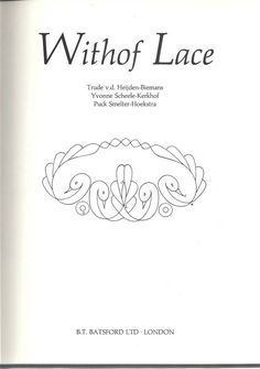 Archivio album - whitolf lace