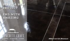 Visithttp://www.concretecraft.com/to schedule your free in-home consultation today! #MotivationMonday