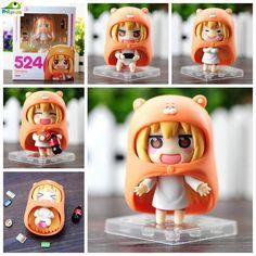 Himouto! Umaru-chan Anime Nendoroid 524 Umaru amada cola papas fritas PVC Figura de Acción de Colección Modelo de Juguete Para Niños Muñeca