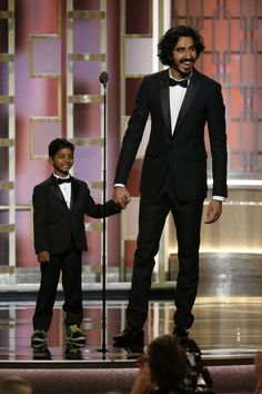 By now you've seen how adorable Dev Patel and Sunny Pawar were when they took the stage together at the Golden Globes this year.