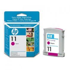 HP Original 11 28ml Magenta Ink C4837AE 100% Genuine Original HP 11 Magenta Ink. Capacity : 28ml For use with the following printers:- HP Business Inkjet 1000 ink cartridges HP Business Inkjet 1100d ink cartridges HP Business Inkjet 1100dtn ink cartridges HP Business Inkjet 1200 ink cartridges HP Business Inkjet 1200d ink cartridges HP Business Inkjet 1200dn ink cartridges