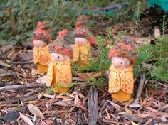 we bloom here: Peg Doll Swap Wrap-up: Wee Folk & Magic Critters