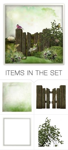"""landscape"" by art-gives-me-life ❤ liked on Polyvore featuring art"