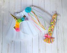 Rainbow unicorn costume unicorn tutu pastel uicorn tutu