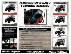 New 2016 Honda Pioneer 1000-5 Deluxe ATVs For Sale in Arkansas. 2016 Honda Pioneer 1000-5 Deluxe, Heartland Honda is Arkansas's 1st Honda Powerhouse Dealership. We have been in business since 1996, and we are a locally owned and operated business. We sincerely appreciate the opportunity to earn your business. Please contact us for more information. *Price includes all manufacturer rebates, incentives and promotions. **Price is Manufacturer's Suggested Retail Price (MSRP) $17199 and does not…
