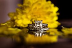 ring shot idea - Fall Farm Wedding at Sweetwater Farm by Susan Stripling Photography - reflection