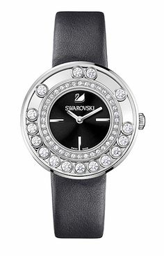 Swarovski Lovely Crystals Anthracite Watch