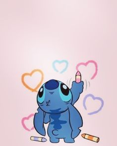 Making luv by nicky_molly - wallpaper - Disney Cartoon Wallpaper, Wallpaper Iphone Disney, Cute Disney Wallpaper, Disney Stitch, Lilo Ve Stitch, Cute Disney Drawings, Cute Drawings, Disney Love, Disney Art
