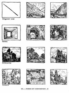 composition of outdoor painting edgar payne Art Lessons, Composition, Art Instructions, Sketch Book, Composition Art, Composition Painting, Art Theory, Art Rules, Composition Design