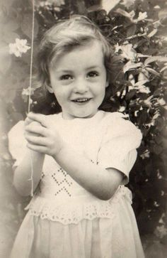 ~+~+~ Vintage Photograph ~+~+~  Birthday girl!