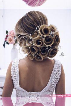 ac duzumunun videosunu gormek isteyen kollegalarim, gelinlerim bir azdan paylashim edecem _____________________________ Мои дорогие - wedding and engagement photo Wedding Hairstyles For Long Hair, Up Hairstyles, Bridal Hairstyles, Hair Wedding, Boho Wedding, Trendy Wedding, Pinterest Hair, Hair Art, Hair Designs