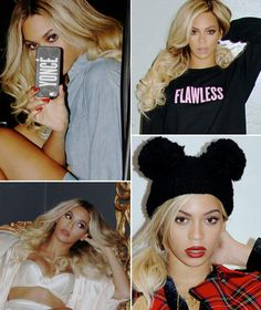 Beyonce Shows Off New Platinum Blonde Hair %u2014 Love It?�Vote