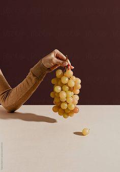 Grapes by Tatjana Zlatkovic - Grape, Fruit - Stocksy United Fruit Photography, Still Life Photography, Lifestyle Photography, Foto Still, Photo Food, Prop Styling, Fruit Art, Aesthetic Food, Food Art