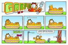 Garfield | Daily Comic Strip on August 21st, 2011