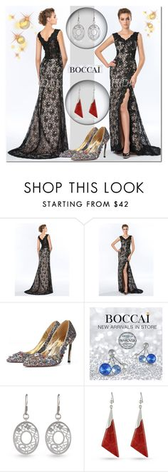 """""""Boccai 10"""" by ramiza-rotic ❤ liked on Polyvore featuring boccaiearrings"""