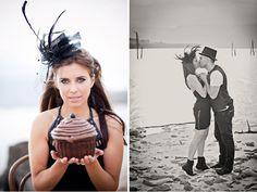 Tim Burton Inspired Engagement Photos