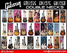 Vintage Gibson Double Neck Guitars