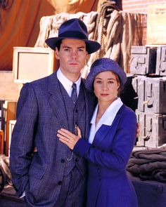 Gilbert and Anne played by Jonathan Crombie and Megan Follows