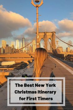 December in New York is magical - the Christmas markets and decorations bring the city to life. Plan the perfect trip with my New York Christmas Itinerary. New York Christmas, Christmas Travel, Christmas Holiday, Holidays In New York, Nyc Holidays, New York Travel, Travel Usa, Travel Tips, New York Day Trip
