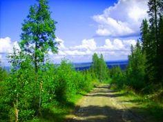Near Skellefteå Sweden