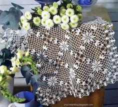 Crochet Art: Crochet Lace Doily - Simple Crochet Doliy