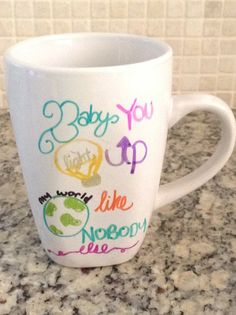 ONE DIRECTION LOVERS this one of a kind hand crafted mug is out of this world you will be a hit among everyone with your 1D Mug