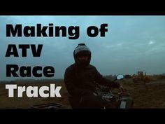 ATV Race track - making of - Taplic video
