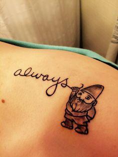 Tattoo #gnome #always.