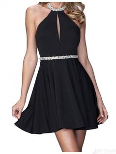 black short homecoming dresses #SIMIBridal #homecomingdresses