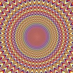 Woah. That's trippy :) Possibly caused by the microsaccades of your eyes (click for more)