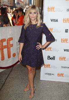 Reese Witherspoon in Dolce & Gabbana at the Toronto Film Festival