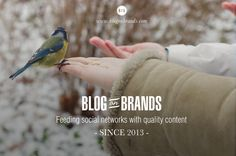 Feeding social networks with quality content since 2013. #blogs #brands #socialnetworks #marketing