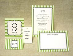 Free Printable Wedding Invitations   POPSUGAR Smart Living  Garden Stripes Wedding Invitation Download the garden stripes wedding invitation template here.  Source: J. Bartyn