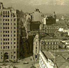 Barrio Cívico de Santiago en la década de los '30s.