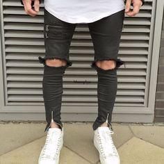 114279361c Las 15 mejores imágenes de Pantalones rotos para hombre