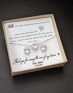 Mother of the Groom gift Mother in Law Gift Mother of the Bride gift wedding gift future mother in law gift wedding gift (CUSTOM COLOR )