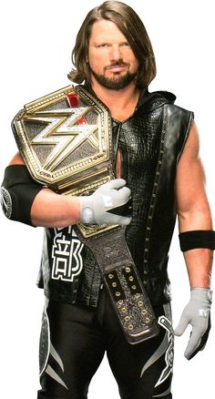 The WWE WHCH The Phenomenal 1 A.J. Styles