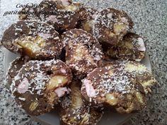 Salam De Biscuiti Cu Banane - imagine 1 mare Sweet Memories, Dessert Recipes, Desserts, Ice Cream Recipes, Biscuits, Muffin, Pie, Cookies, Breakfast
