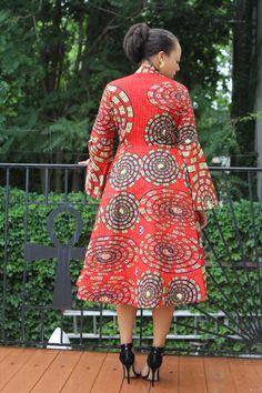 Mariposa Roja MIDI Dress Ready to Ship New by tribalgroove