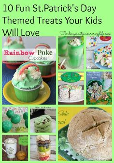 10 Fun St.Patrick's Day Themed Treats Your Kids Will Love